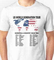 US World Domination Unisex T-Shirt