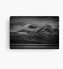 The Drama of Mt Cook Canvas Print