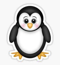 Cute 3D Penguin Sticker