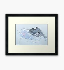 It's His Time, Not Yours Framed Print