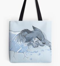 It's His Time, Not Yours Tote Bag
