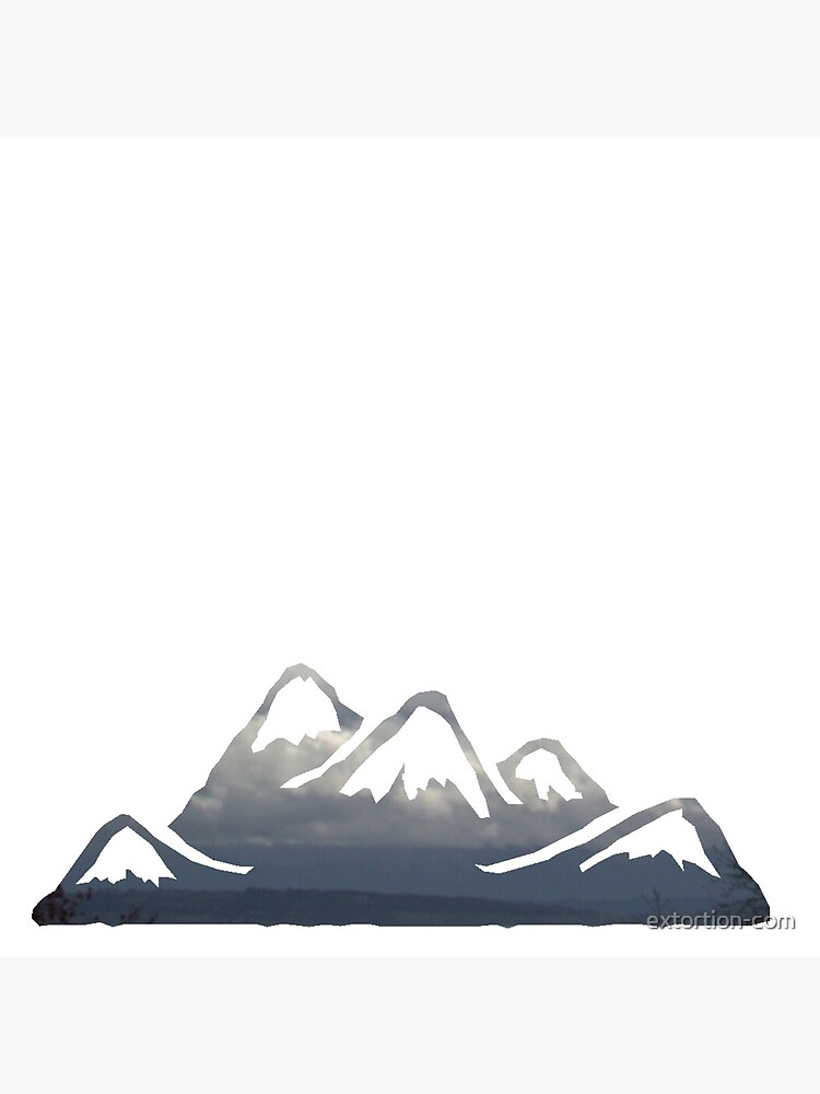 wild cascadia - mountains by extortion-com