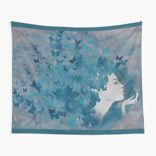 Flying Blues Tapestry