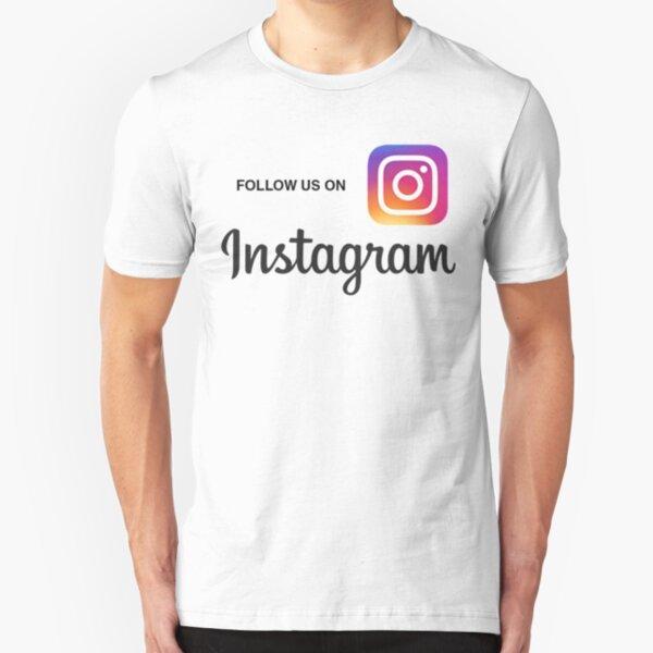 INSTAGRAM Slim Fit T-Shirt