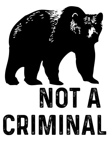 bear is not a criminal by extortion-com