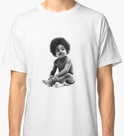 Ready to Die Notorious BIG replica baby print Classic T-Shirt