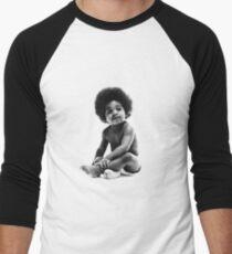 Ready to Die Notorious BIG replica baby print Men's Baseball ¾ T-Shirt