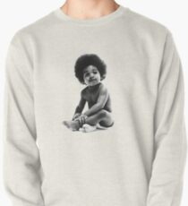 Ready to Die Notorious BIG replica baby print Pullover