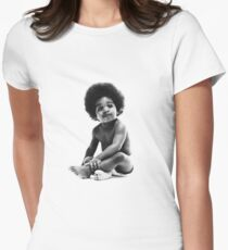Ready to Die Notorious BIG replica baby print Women's Fitted T-Shirt