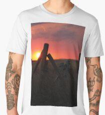 Country Sunset Men's Premium T-Shirt