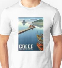 1949 Corfu Greece Travel Poster T-Shirt