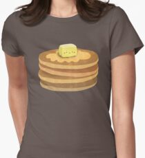 pancakes! Women's Fitted T-Shirt