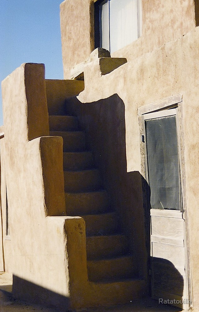 Pueblo Stairs by Ratatouille