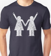 Stay togehter and ROCK! Lesbian Grunch T-Shirt