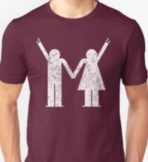 Stay togehter and ROCK! Hetro Grunch T-Shirt