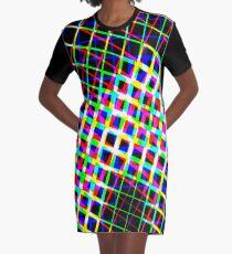 Shape it Bright Graphic T-Shirt Dress