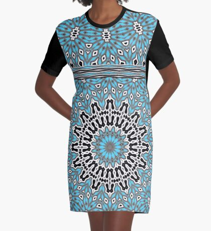 Circle It Graphic T-Shirt Dress