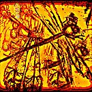 Dragonfly on Fire by Susan  Detroy