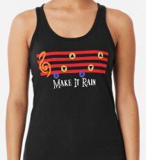 Lass es regnen Tanktop für Frauen