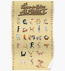 The horse-a-holic-alphabet Poster