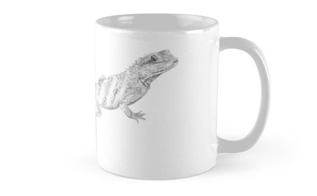 Lizard II by artlilly