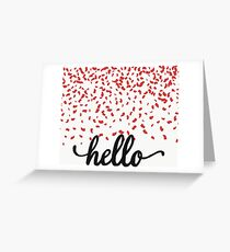 i want to say... Greeting Card