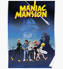 Póster Mansion maniaca