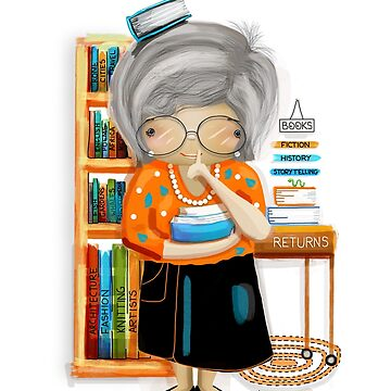 The Little Librarian by karin