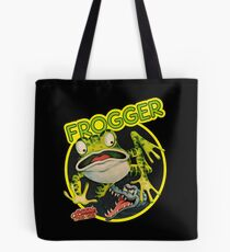 Frogger Tote Bag in 3 Sizes - Black