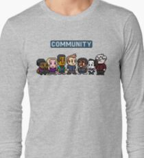 Community - 8Bit Long Sleeve T-Shirt