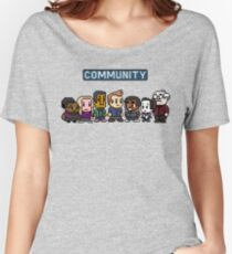 Community - 8Bit Women's Relaxed Fit T-Shirt