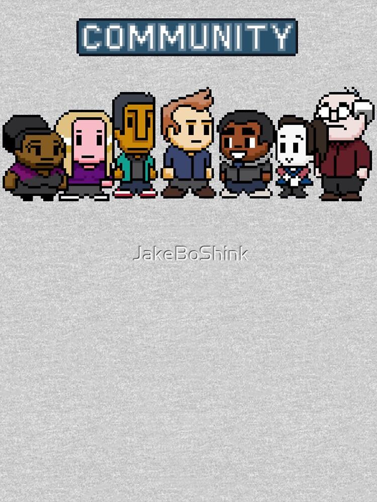 Community - 8Bit | Unisex T-Shirt