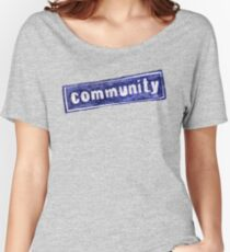 Community Logo Women's Relaxed Fit T-Shirt