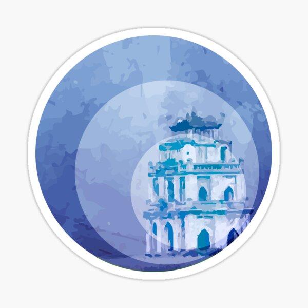 Vietnam Hoan Kiem Lake Hanoi Capital Sticker