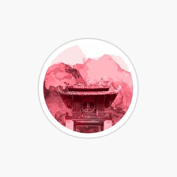 Vietnam Quoc Tu Giam Temple Hanoi capital Sticker