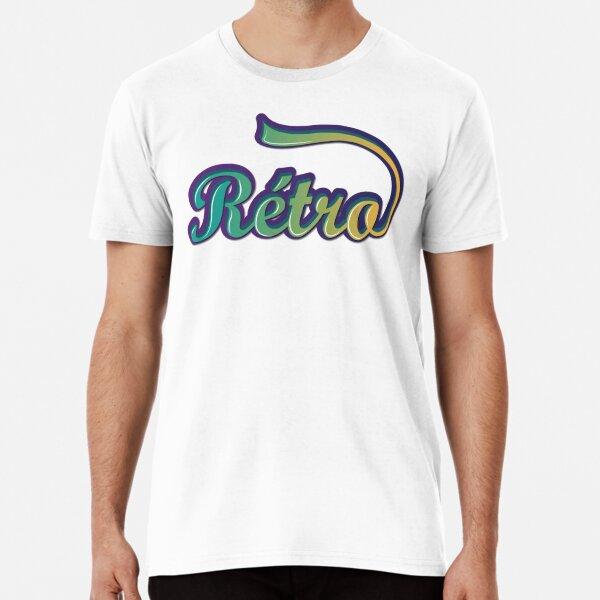 Rétro T-shirt premium