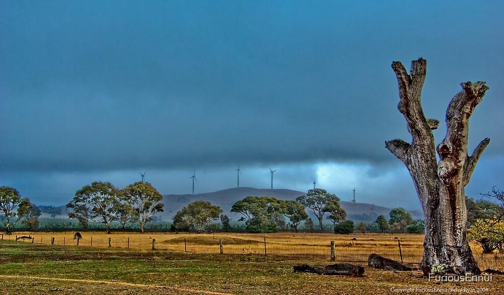 Windmills, Dead Tree by FuriousEnnui
