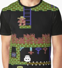 Montezumas Revenge Gameplay Graphic T-Shirt