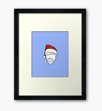Heading For Christmas Framed Print
