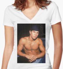Marky Mark Women's Fitted V-Neck T-Shirt