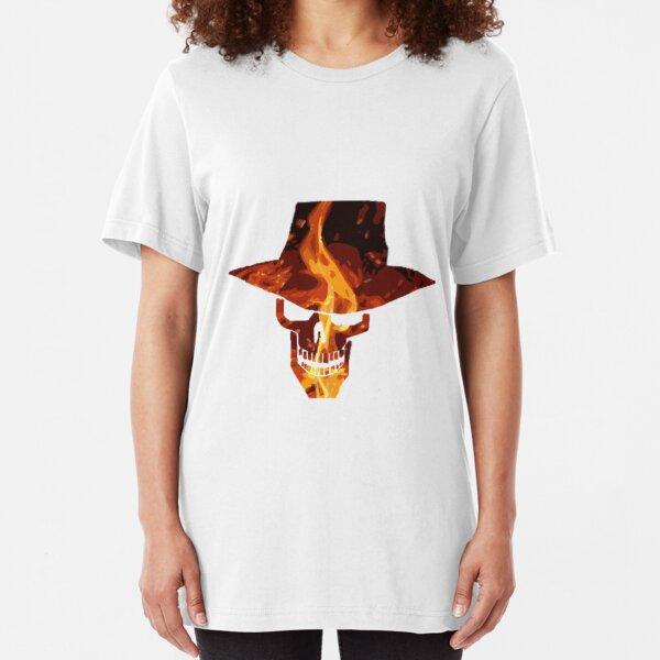 Skulduggery pleasant Slim Fit T-Shirt
