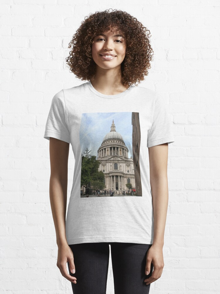 Alternate view of St Paul Cathedral London England Anglican  Essential T-Shirt
