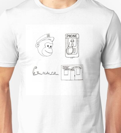 Serial Podcast Drawing. Unisex T-Shirt
