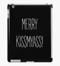 Merry Kiss My Ass iPad Case/Skin