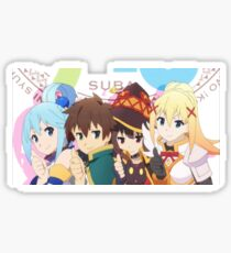Konosuba 3 Sticker