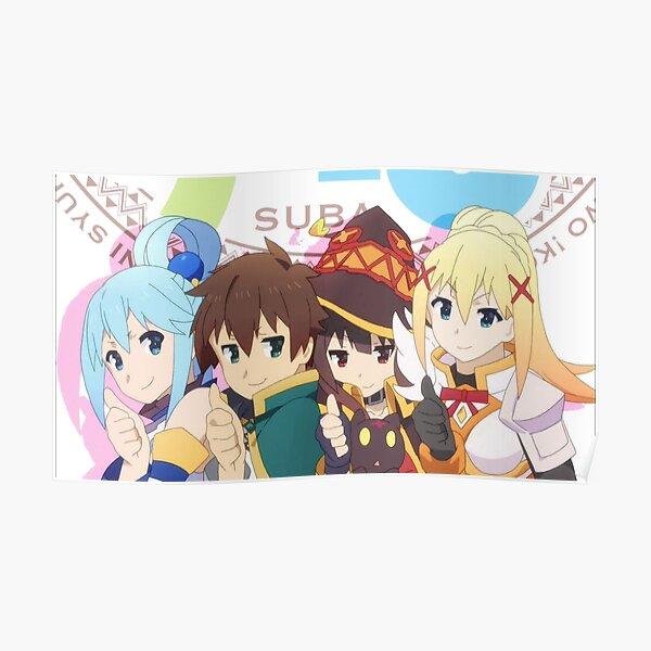 Konosuba 3 Poster