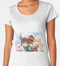 Konosuba 3 Women's Premium T-Shirt