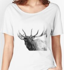 Bull elk Women's Relaxed Fit T-Shirt