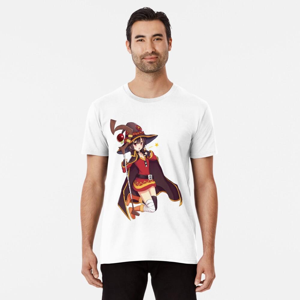 Konosuba Megumin Camiseta premium
