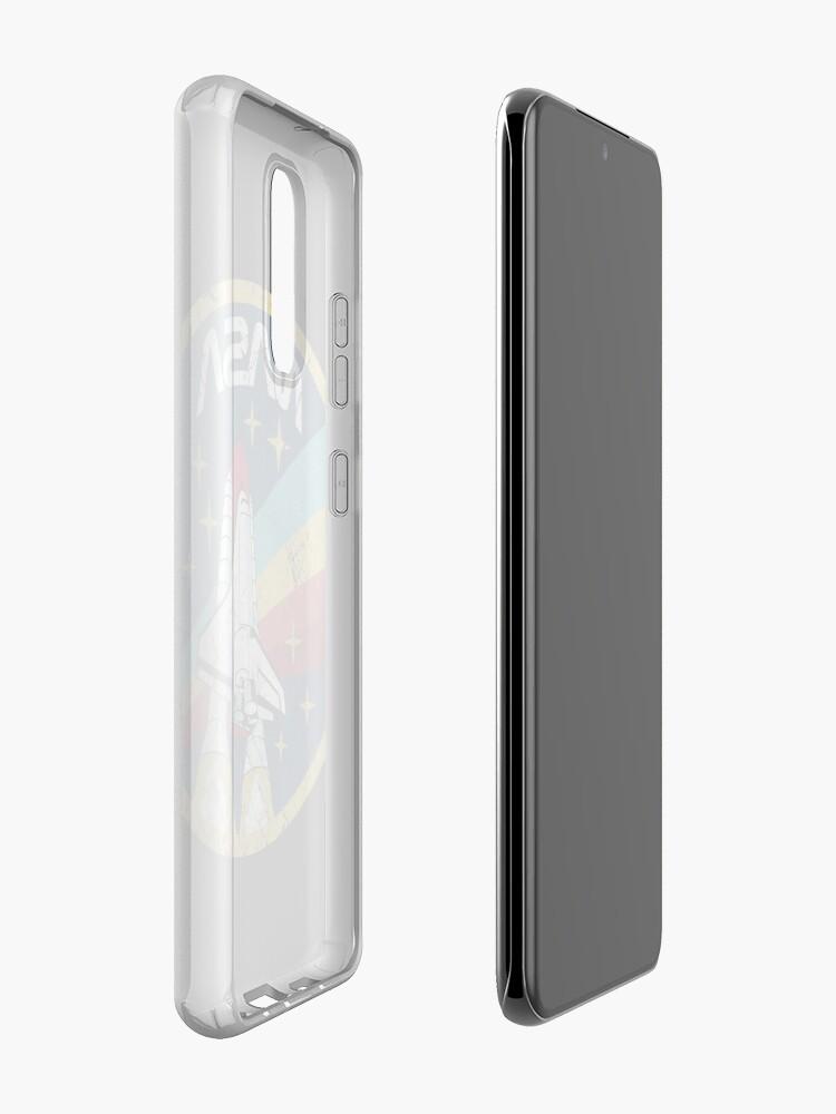 Alternate view of Nasa Vintage Colors V01 Case & Skin for Samsung Galaxy